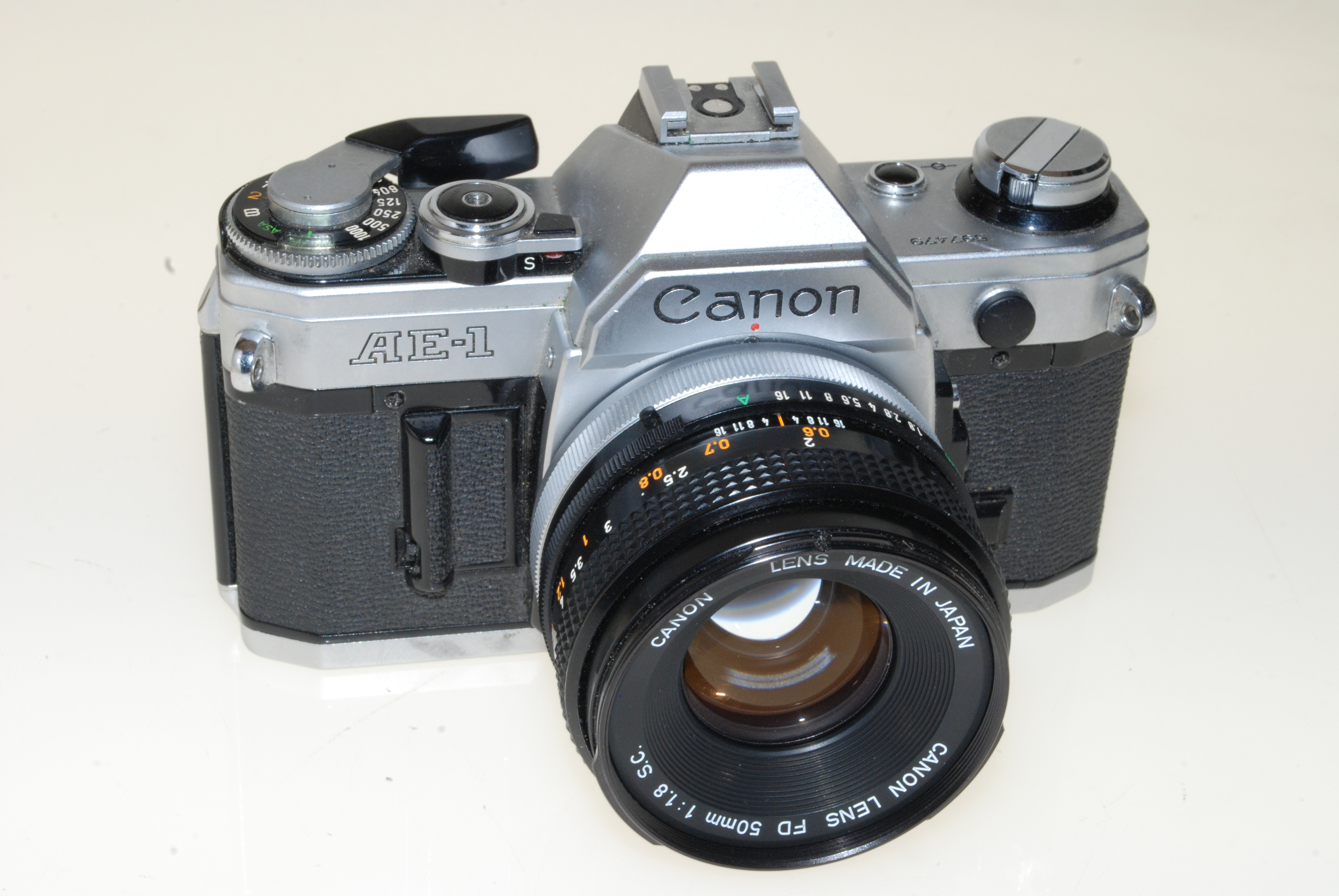 Canon AE-1 Program Film Advance Lever Assembly